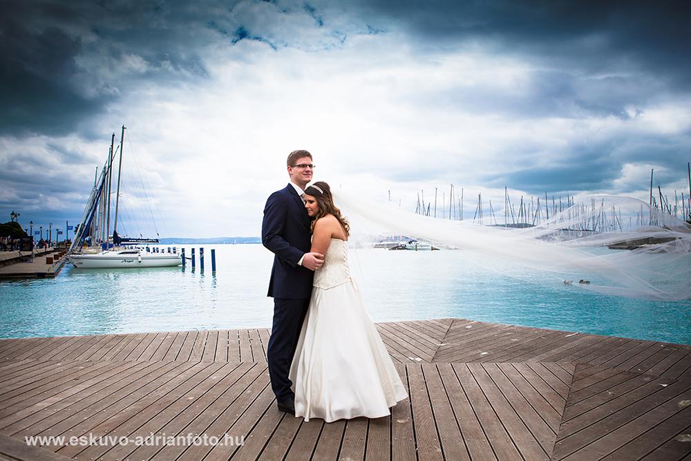 esküvői fotó Balaton