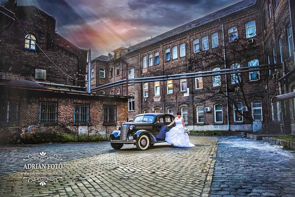 esküvői fotó, Csepel Művek