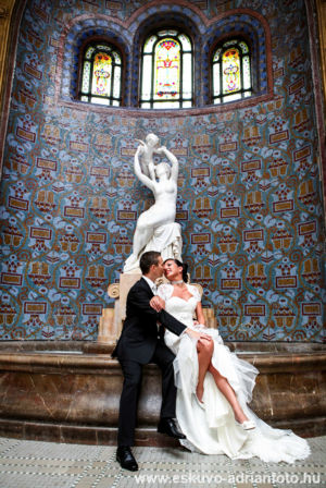 esküvői fotó a Gellérben
