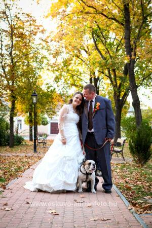 esküvői fotó Gyömrőn