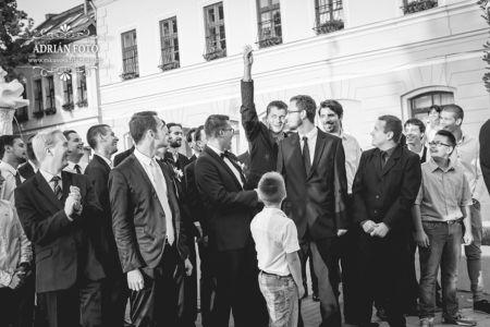 fekete esküvői fotó