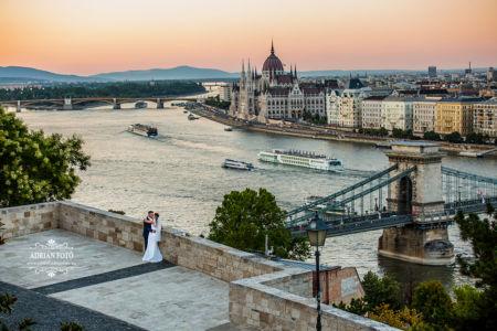 esküvői fotó a várban