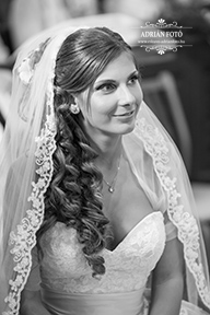 menyasszony portré fotó