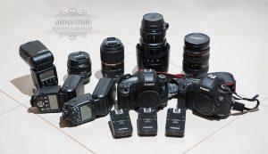 esküvői fotós felszerelés