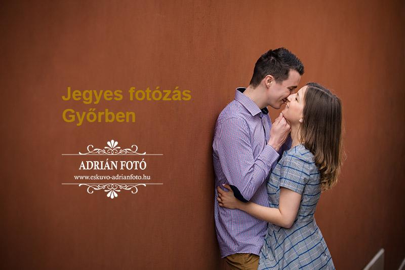 Jegyes fotózás Győrben