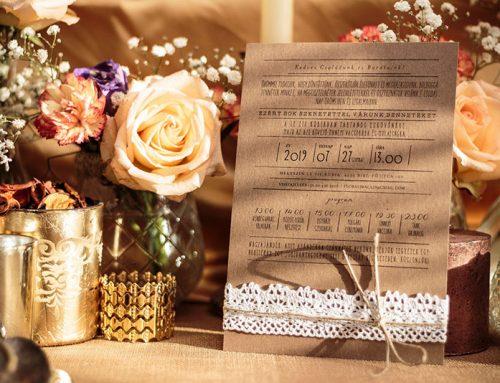 A Legjobb Esküvői Meghívók 2020-ban